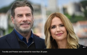 Actress Kelly Preston, John Travoltas wife, dies aged 57